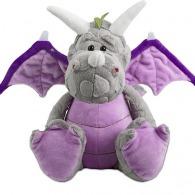 Peluche dragon publicitaire