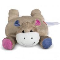 Peluche hippopotame personnalisé