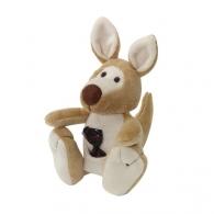 Peluche publicitaire kangourou