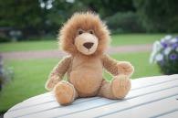 Peluche lion logoté Mumbles