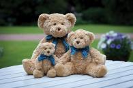 Peluche personnalisée ours brun clair mumbles
