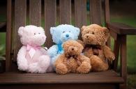 Peluche logotée ours couleur Mumbles