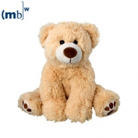 Peluche personnalisable ours ralle 20 cm assis