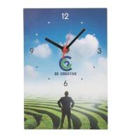 Horloges et pendules murales avec marquage