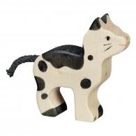 Petit chat en bois 7cm