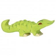 Petit crocodile en bois 10cm