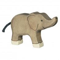 Petit éléphant en bois 12cm