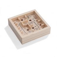 Petit labyrinthe publicitaire en bois