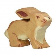 Petit lapin en bois