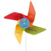 Petit moulin à vent en papier
