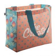 Petit sac publicitaire shopping rPET quadri