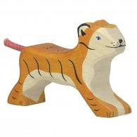 Petit tigre en bois 10cm
