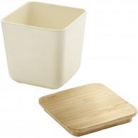 Petite boîte de conservation personnalisée bambou