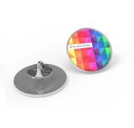 Pin's personnalisables rond métal