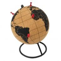 Globe terrestre publicitaire en liège