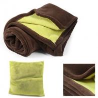 Plaids et couvertures écologiques ou recyclés publicitaire