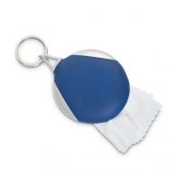 Porte-clés avec un chiffon microfibre customisé