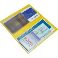 Pochette voyage personnalisable 2 volets 4 poches