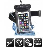 Pochette waterproof premium avec brassard sport