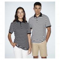 Polo jersey marinière