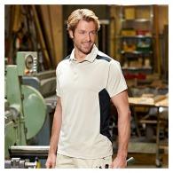 Polo personnalisé workwear bicolore