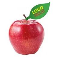 Pomme avec étiquette