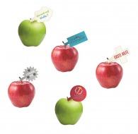 Pomme avec étiquette sur-mesure