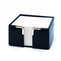 Porte bloc papier en cuir