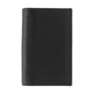 Porte-carte de crédit rfid en croûte de cuir