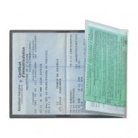 Porte-carte grise 3 volets