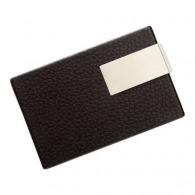 Porte cartes de visite avec plaque
