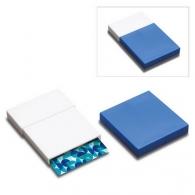 Porte cartes de visite personnalisable reflects-kelmis white