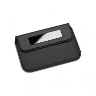 Porte cartes de visite personnalisable reflects-limoges black