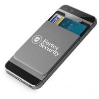 Porte-cartes pour smartphone avec logo