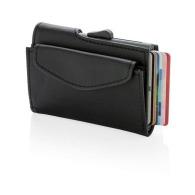 Porte-cartes et portefeuille logoté RFID C-Secure