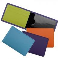 Porte-cartes horizontal (4) en cuir