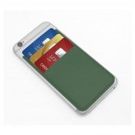 Porte-cartes en cuir avec personnalisation