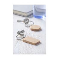 Porte-clés en bois avec marquage