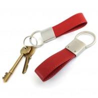 Porte clé boucle en cuir