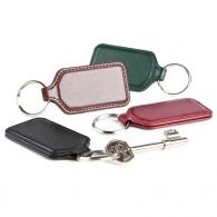 Porte clé personnalisé rectangulaire en cuir