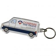 Porte-clefs camionnette avec insert