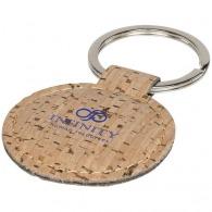 Porte-clés personnalisable aspect liège