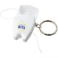 Porte-clés avec fil dentaire