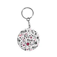 Porte-clés badge personnalisable