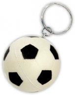 porte-clés ballon de football personnalisable anti-stress