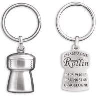 Porte-clés bouchon de champagne 3d
