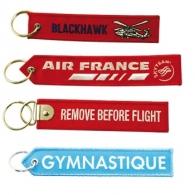 Porte-clés messages avec logo