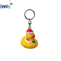 Porte-clés canard publicitaires de noël
