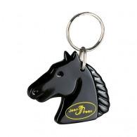 Porte-clés personnalisable cheval