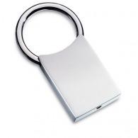 Porte-clés en métal sur stock avec logo